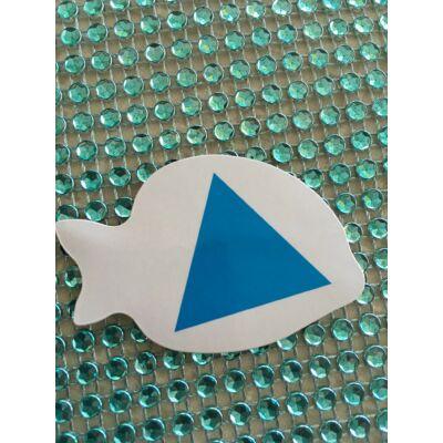 Társasjáték kék háromszög