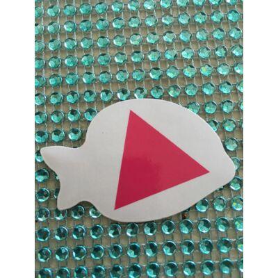 Társasjáték rózsaszin háromszög