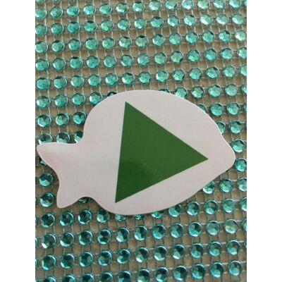 Társasjáték zöld háromszög