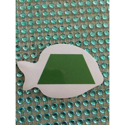Társasjáték zöld trapéz